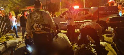 """ילד כבן 12 נפצע אנושות משריפה במרכז העיר פ""""ת"""