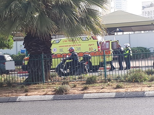 על הבוקר; נהג קורקינט נפצע קשה בתאונה