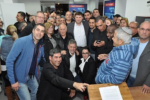 גרינברג הכריז על התמודדותו לראשות העיר